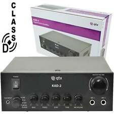 QTX KAD-2 Digital Stereo Amplifier Class D 110W 4 Ohm & 80W 8 Ohm With Echo FX