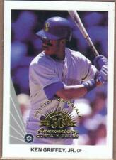 1998 LEAF FRACTAL MATERIALS CURTAIN #'ed KEN GRIFFEY Jr. #156 SEATTLE MARINERS
