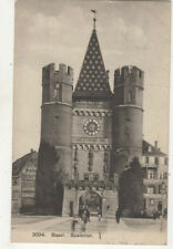 Basel Switzerland Spalentor 1908 Postcard US027