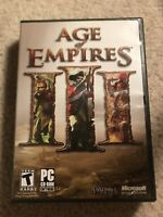 Age of Empires 3 III (PC CD-ROM 2005) CIB Complete with Manual And Product Key!