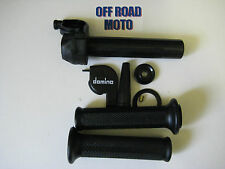 Domino Trials Bike Slow Action Throttle With Grips. **DIRECT FIT**. FULL KIT