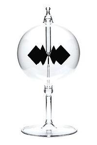 Lichtmühle Solar Radiometer stehend 80mm klar Lichtmühlen von GlasXpert
