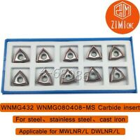 1P C40-2D45 WC08 CNC U drill 45mm-2D for WCMT080412 Insert Indexable drill
