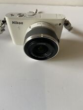Nikon 1 J3 Digital Camera - White (Kit w/ VR 10-30mm (no Charger Included )