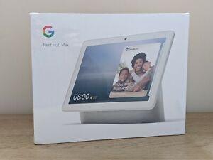 Google Nest Hub Max - Brand New, White/Chalk - Fast Dispatch .e