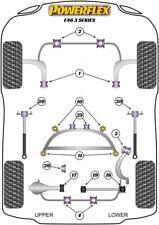 Powerflex ROAD Suspension Bush Kit for BMW E46, 66mm, Aluminium Outer
