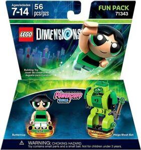 Lego Dimensions Buttercup The Powerpuff Girls Fun Pack 71343 🎁FREE SHIPPING🎁 Z