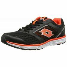 Scarpe Sneakers Running Uomo LOTTO EVERIDE II AMF Nero / Rosso Fluo