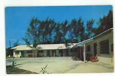 Starlite Motel Roadside SIESTA KEY FL Vintage Florida Keys Postcard