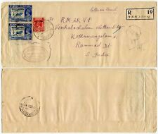BURMA MILITARY ADMIN REGISTERED YANDOON EXPERIMENTAL P.O D10 No.8 1945...L1