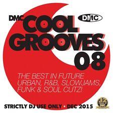 DMC Cool Grooves Issue 8 Future Urban, R&B, Slowjams, & Soul Cutz DJ CD