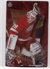 MIKE VERNON 1995-96 PRO MAGNETS IRON CURTAIN NHL STAR GOALIES SP INSERT #IC5