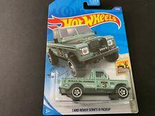 Hot Wheels Land Rover Series III Pickup 3/250 1/64