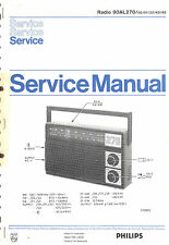 Philips  Original Service Manual für  90 AL 270