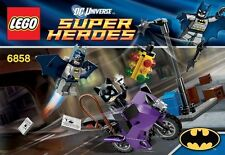 LEGO 6858 - Super Heroes Catwoman Catcycle City Chase - NEW