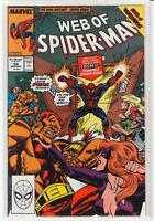 Web of Spiderman #59 cosmic spidey Captain Universe 9.4