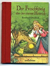 Der Froschkönig  MINI Bilderbuch entzückend illustriert von Bernhard Oberdieck