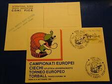 CAMPIONATI EUROPEI CIECHI  ATLETICA LEGGERA NUOTO ROMA 14.9.01985 TROFEO EUROMA