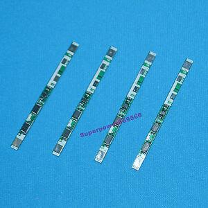 4pc 4A PCB PCM 1cell 1S18650 Li-ion Li polymer battery protection circuit board