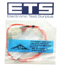 Allen Tel GBLCC-D2-01 Fiber Optic Patch Cord LC To SC Duplex MM 62.5/125 O2.0mm