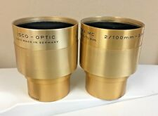 ISCO Ultra MC 100mm F2.0  35mm & 70mm Motion Picture projector Lens Nice