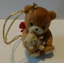 Vintage 1983 Lucy And Me Bear Figure Ornament