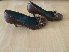 Sacha London braune Pumps Gr. 37 / 38 - wie neu