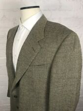 CANALI Blazer Men's 44R Gold Nailhead 13220/00 100% Wool 2 Button
