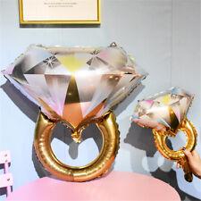 "17 "" Propose Diamond Ring Foil Helium Balloon Wedding Engagement Hen Party Decor"