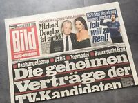 BILD Zeitung 18. Januar 2011 / 1. / 18.1.2011 / Nistelrooy HSV Real