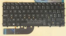 NEW FOR DELL XPS 13 9343 9350 9360 Keyboard Backlit Belgian Clavier No Frame