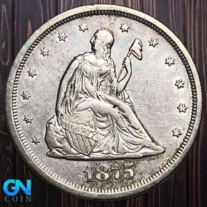 1875 S 20 Cent Piece  --  MAKE US AN OFFER!  #K5994