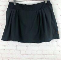 Lucy Women's Size S Black Athletic Skirt Skort Tennis Running