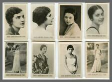 GREECE  BEAUTY CONTEST 1930 MISS EUROPA  DIPLARAKOU 8 VINTAGE SMALL SIZE PHOTOS