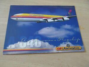 Airline Issue AIR JAMAICA Airbus A340 flagship postcard