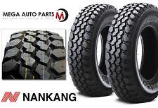 2 X New Nankang N889 Mudstar M/T LT235/75R15 104/101Q C/6 Ply ROWL Mud Tires MT