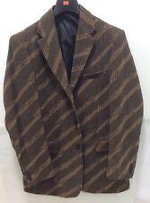 Pronti men's Blazer size Medium ,3 Button,Brown/Tan,80%polyester,20%Rayon,New!!