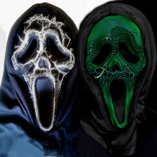 Scream 4 Ghost Face Animation Smoldering Mask Licensed Halloween