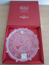 Waterford Crystal 2002 Songs of Christmas Deck the Halls Plate