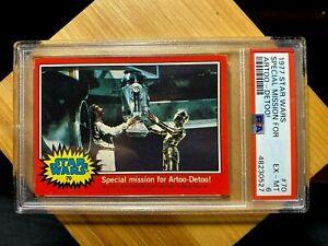 1977 Topps Star Wars #70 Special Mission For Artoo-Detoo! PSA 6 EX-MT