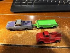 1968 Tootsie Toys Lot of 3 Vintage Cars Chicago USA