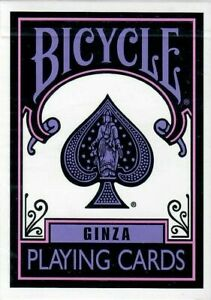 Bicycle Purple and Pink Ginza Playing Cards - Brand New USA Seller