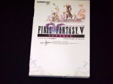 Final Fantasy V 5 Advance Official Strategy Guide Book Game Boy Advance JAPAN