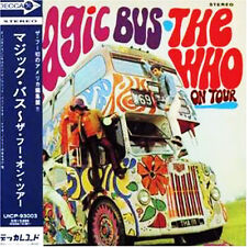 THE WHO - MAGIC BUS - JAPAN MINI LP CD - OUT OF PRINT