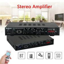 2000W Surround Sound Stereo Amplifier LED Display Bluetooth For Hifi Home Cinema