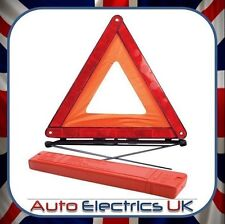 UK Large Warning Car Triangle Reflective Road Emergency Breakdown Safety Hazard