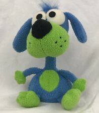"Blue Bobblehead Dog Bestever Plush Paper Weight Bobble Head 8"" Tall"
