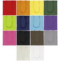 Plain Shopping Shoulder Tote Shopper Bags Wholesale - 100% Cotton Canvas Bag LOT