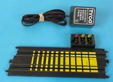 "Tyco 229 MM 9"" Terminal Track B-5832T Slot Car Track Piece With Power Plug"