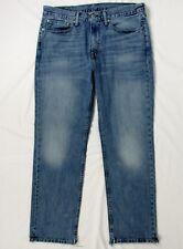 LEVIS 514 Men's Blue Jeans Straight Fit 100% Cotton Denim W34 L30 Levi Strauss